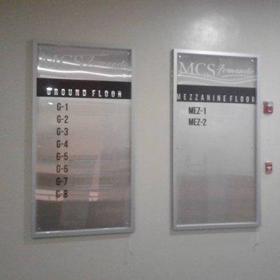 MCS floor map